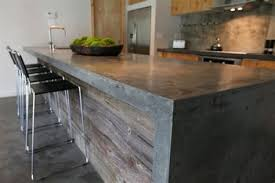 plan de travail cuisine en zinc meuble cuisine bois et zinc 12 petit ilot central de cuisine