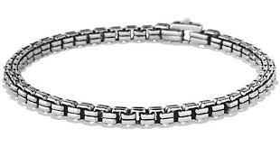 box chain bracelet images David yurman double box chain bracelet 4mm in metallic for men jpeg