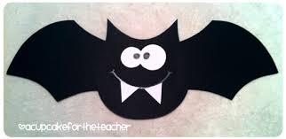 going batty free craftivity a cupcake for the teacher