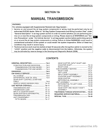 suzuki swift 2000 1 g transmission service workshop manual