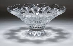 waterford crystal l base lot 244 waterford crystal butterflies centerpiece bowl having a
