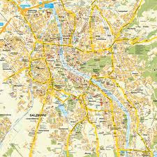 Austria Map Map Salzburg Salzburg Austria Maps And Directions At Map