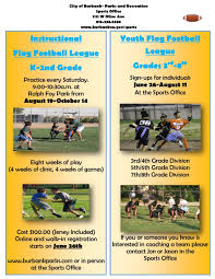 youth sports burbank ca