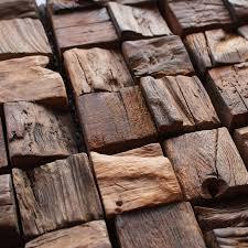 mosaic wood wall tiles 3d ancient old boat wooden mosaics art