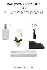 Bathroom Accessories Au bathroom accessories for classic bathrooms diy decorator