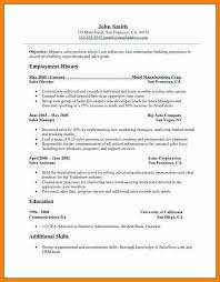 10 cv format for sales mail clerked