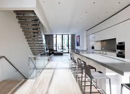 kitchen modern kitchen design with long kitchen island metal