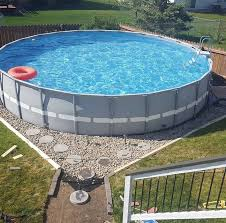 Landscaping Around Pools by Landscaping Cool Above Ground Pool Landscaping For Backyard Ideas