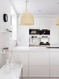 ikea mosslanda white modern kitchen with ikea light pendants modern kitchen