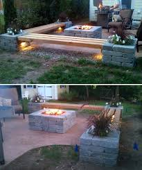 Outdoor Wood Bench Diy by Best 25 Cinder Block Bench Ideas On Pinterest Cinder Block