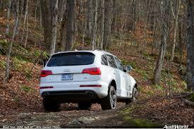Audi Q7 2012 - road test 2012 audi q7 audiworld