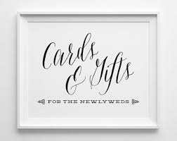 sign a wedding card the 25 best gift table signs ideas on wedding gift