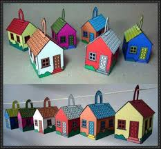 house ornament papercrafts free