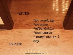 wood floor refinishing without sanding flooring ideas