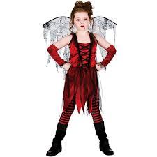 Gothic Ballerina Halloween Costume Deluxe Vampire Vampiress Queen Fairy Gothic Halloween Girls Fancy