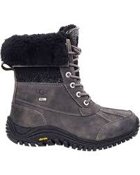ugg s adirondack ii leather apres ski boots great deals on ugg s adirondack ii boot 9 charcoal