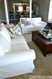 ikea slipcover sofa new white slipcover ikea couches liz marie blog