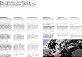 test si e auto tcs centres techniques technische zentren centri tecnici pdf