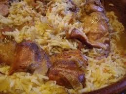cuisiner lapin au four lapin au riz au four recette ptitchef