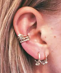 stacks on deck 23 delicate and oh so pretty ear piercing ideas