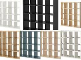 Kallax Ikea Kallax 16 Cube Storage Bookcase Square Shelving Unit Various
