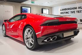 Lamborghini Huracan Back View - lamborghini huracn lp 610 4 credit automobili lamborghini 2016
