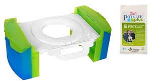 Cool gear folding portable travel potty seat for car