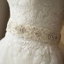lace wedding dress with belt pearl bridal sash belt lace wedding dress belt