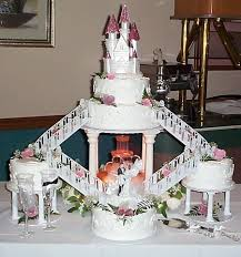 wedding cake castle wedding gowns pearls
