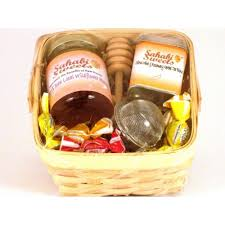 inexpensive gift baskets honey and herbal tea gift baskets small
