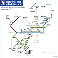 Philadelphia Metro Map by Septa And The Pope U0027s Visit Everything You Need To Know News