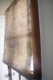 Lined Burlap Curtain Panels M Linen Burlapin Panels With Black Checks Shower Etsyins West Elm