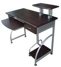 Modern Furniture Computer Table Furniture Computer Table With Printer Stand And Drawer Wenge