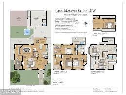 shaw afb housing floor plans 3400 macomb st nw washington dc 20016 mls dc9979116 redfin
