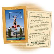 make your own basketball card