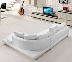 Contemporary White Leather Sectional Sofa by Best 25 White Sectional Ideas On Pinterest Lounge Ideas Grey