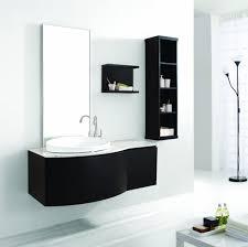 amazing bathroom under sink corner cabinet using black painted