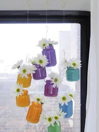 Upcycling Ideas For The Home Upcycle Baby Food Jars Into Hanging Ombre Vases Hgtv