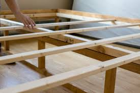 how to make a mid century bed frame home improvement projects to