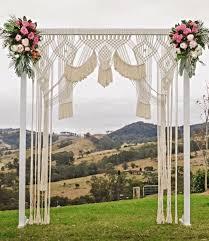 wedding arch ebay australia a macrame wedding backdrop is the best way to reuse wedding decor