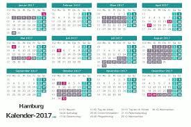 Kalender 2018 Hamburg Brückentage Ferien Hamburg 2017 Ferienkalender übersicht