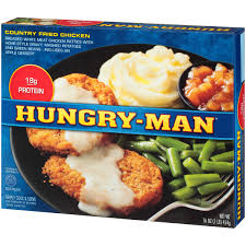 hungry man country fried chicken 16 oz walmart com