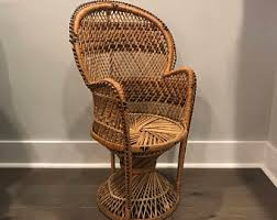peacock chair etsy