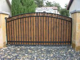 wooden driveway gates u2013 outdoor decorations