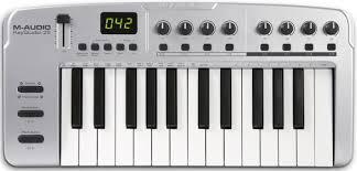 m audio keystudio 25 25 key midi kybd controller pssl