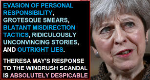 election 2015 live tebbit camerons snp scare tactics theresa may s despicable response to the windrush scandal uk election