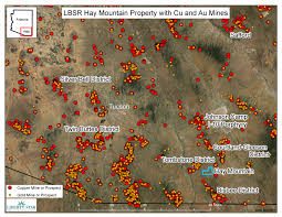 Bisbee Arizona Map by Hay Mountain Tombstone Super Project Liberty Star Uranium