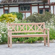 5ft Garden Bench Alexander Rose Garden Furniture