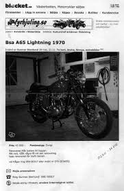bsa lightning 1970 text and picture side english version