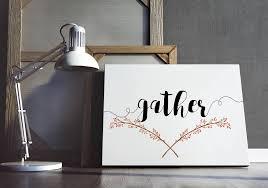 gather gather sign gather printable fall printable fall sign